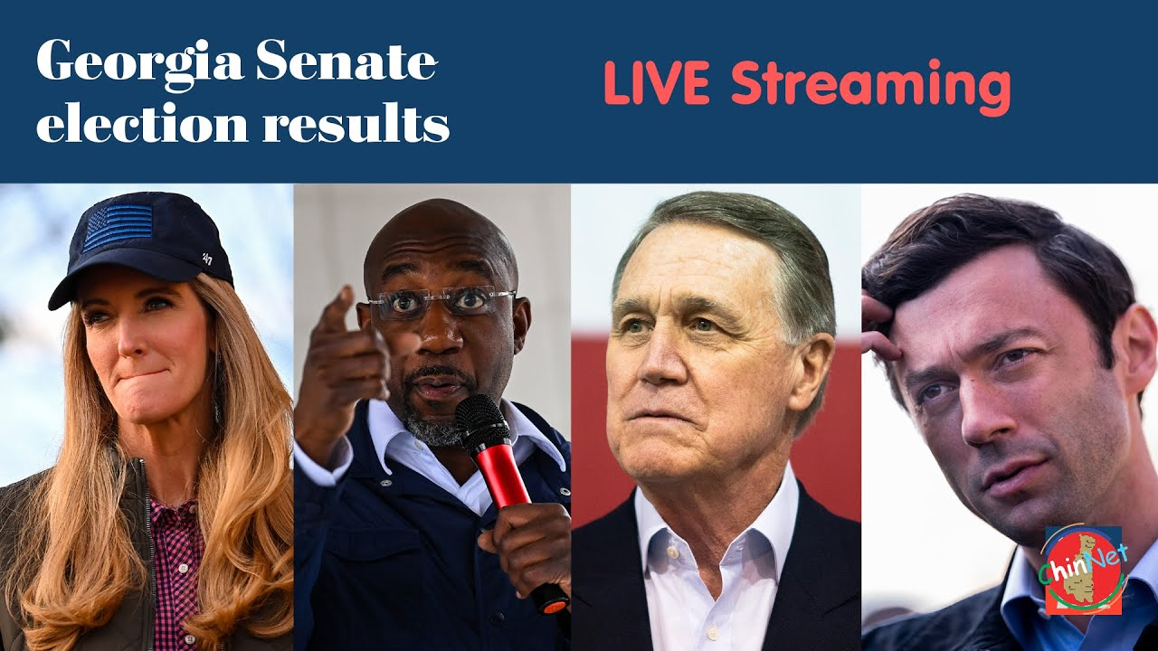 Georgia Senate Election 2021 - Live Streaming