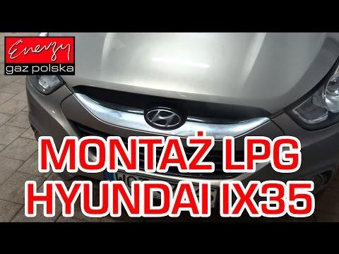 Monta LPG Hyundai ix35 z 2.0 163KM 2010r w Energy Gaz Polska na gaz BRC SQ 24.11