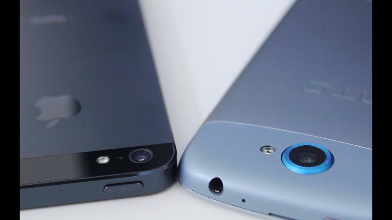 iPhone 5 vs HTC One Series Camera Comparison