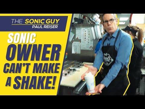 Sonic Drive-In Owner Shows Behind The Scenes! Half Price Summer Of Shakes!