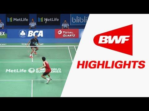 BCA Indonesia Open 2017   Badminton F M3-WS   Sayaka Sato vs Sung Ji Hyunposted by Osettokw