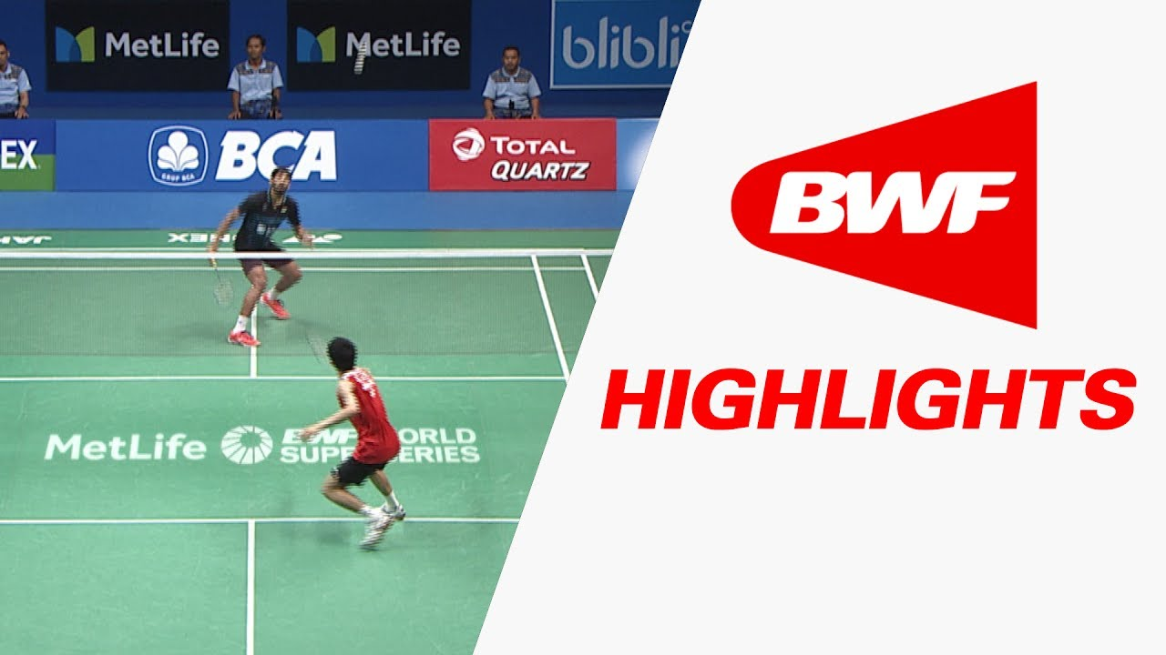 Bca Indonesia Open  Badminton F Highlights