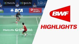 BCA Indonesia Open 2017 | Badminton F – Highlights thumbnail