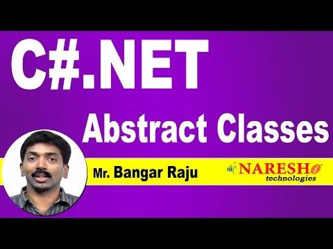 abstract-classes-in-c#.net- -c#.net-tutorial- -mr.-bangar-raju