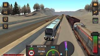 Train Simulator 2018 - NEW International Railroad Cargo Train Transport Android GamePlay FHD