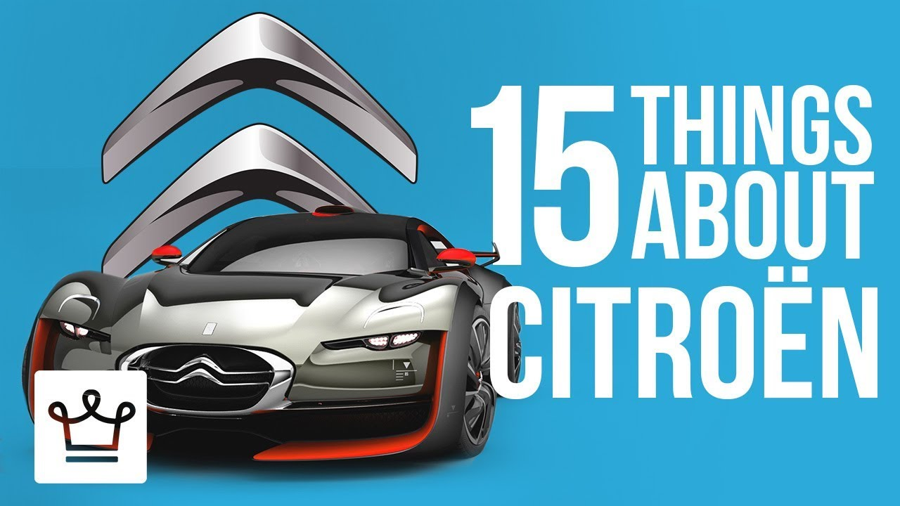 15 Things You Didn't Know About CITROËN