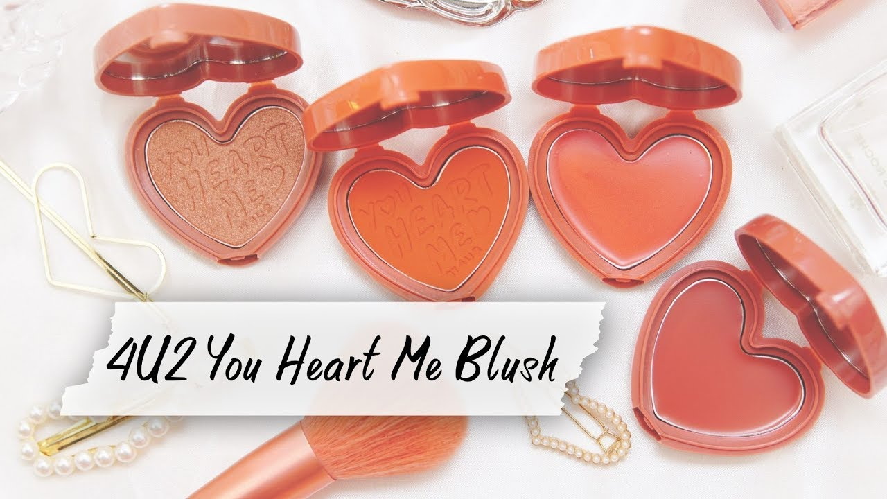 HOW TO | แต่ง 4 ลุคด้วย 4U2 You Heart Me Blush