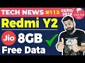 Redmi Y2, Vivo X21, Mi Note 5, Moto G6, G6 Play, New Nokia Launch, Jio Free 8GB-TTN#113
