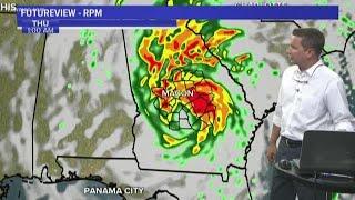 Tracking Hurricane Michael, 6 p.m. update