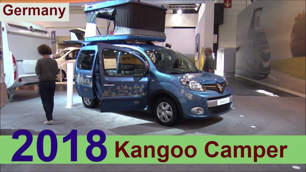 renault kangoo minicamper 2018 youtube. Black Bedroom Furniture Sets. Home Design Ideas