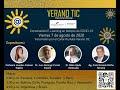Verano TIC - Conversatorio E-Learning en tiempos de COVID-19 - Hoy a las 2:00 p.m. (GMT-5)
