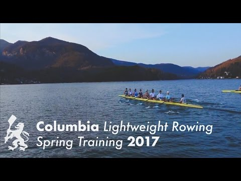 Columbia Lightweight Rowing | Spring Training 2017