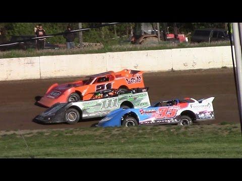 RUSH Crate Late Model Heat Three | Eriez Speedway | 5-14-17
