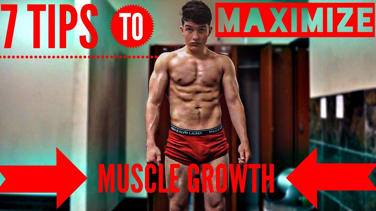 7 Essential Tips For Building Muscle 16 Year Old