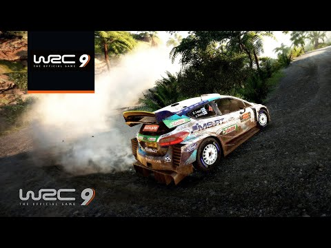 WRC 9: Rally New Zealand Gameplay