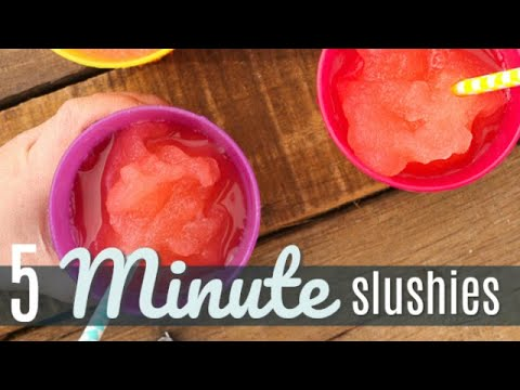 5 Minute Slushie (aka Slushy Magic)