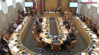 Вопрос Татьяны Рыкуновой мэру Эдхаму Акбулатову Сессия 29 марта