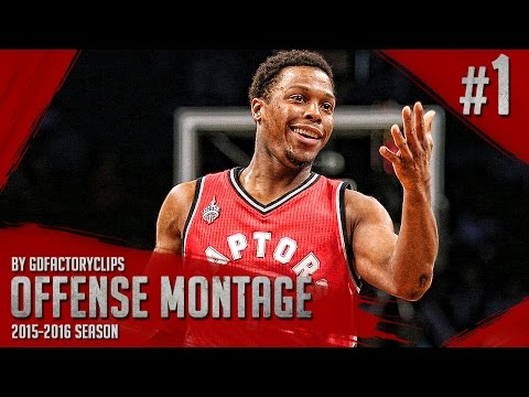 Kyle Lowry Offense Highlights Montage 2015/2016 (Part 1) - JUMPMAN!