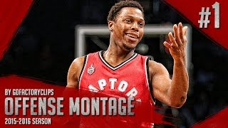 Repeat youtube video Kyle Lowry Offense Highlights Montage 2015/2016 (Part 1) - JUMPMAN!