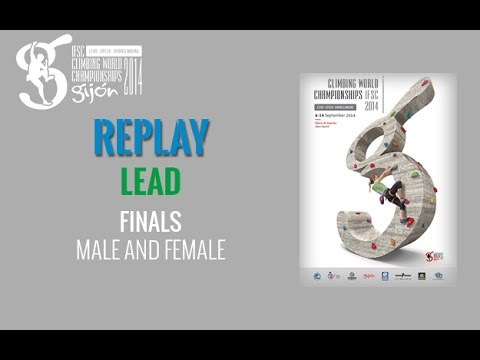 IFSC Climbing World Championships Gijón 2014 - Lead - Final - Men/Women