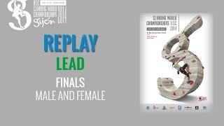 The 2014 IFSC Lead, Speed, and Paraclimbing World Championships wer...