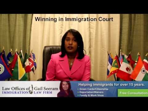Deportation-Immigration Court-Immigration Lawyer Gail Seeram