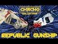REPUBLIC GUNSHIP Hasbro- Todas las que existen