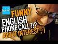 funny english scame phishing phone call