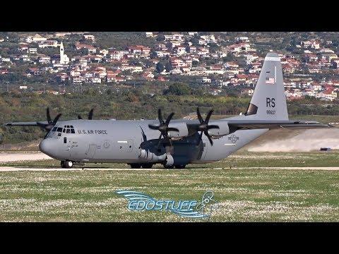 USAF Lockheed C-130J Hercules AMAZING! Close-up Takeoff!