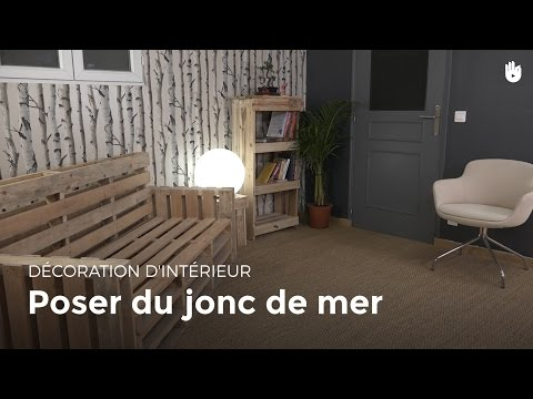 Poser du jonc de mer   Bricolage - YouTube