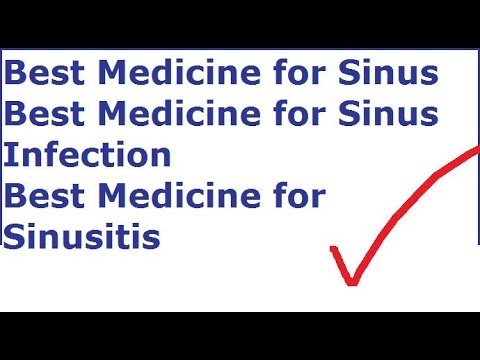 what is the best otc for sinus infection