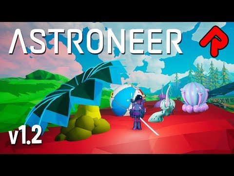 Astroneer 1.2: Mutant Seeds & Rare Beach Ball! | Astroneer 1.2 Summer Update Beta #2