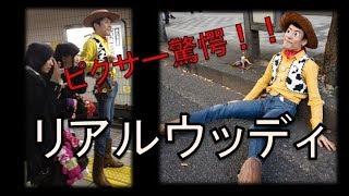 トイ・ストーリーのウッディが日本に実在している!?「リアルウッディ...