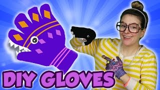 Snow Gloves DIY! - Snow DIY Part 1 | Arts and Crafts with Crafty Carol