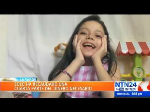 Stefanía Lugo, una pequeña venezolana que necesita con urgencia un trasplante de hígado