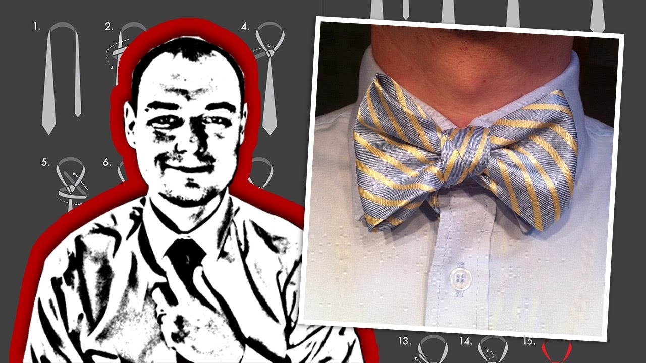 Tie tips how to tie a neck tie into a bow tie youtube ccuart Gallery
