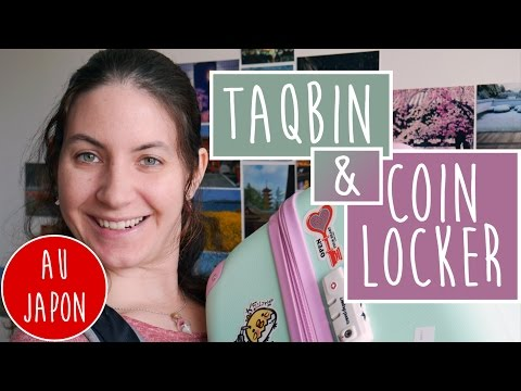 Voyager sans ses bagages au Japon : Ta-Q-bin & Coin Locker  !
