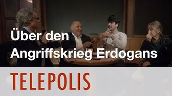 Telepolis Salon mit Elke Dangeleit, Kamal Sido, und Kerem Schamberger.