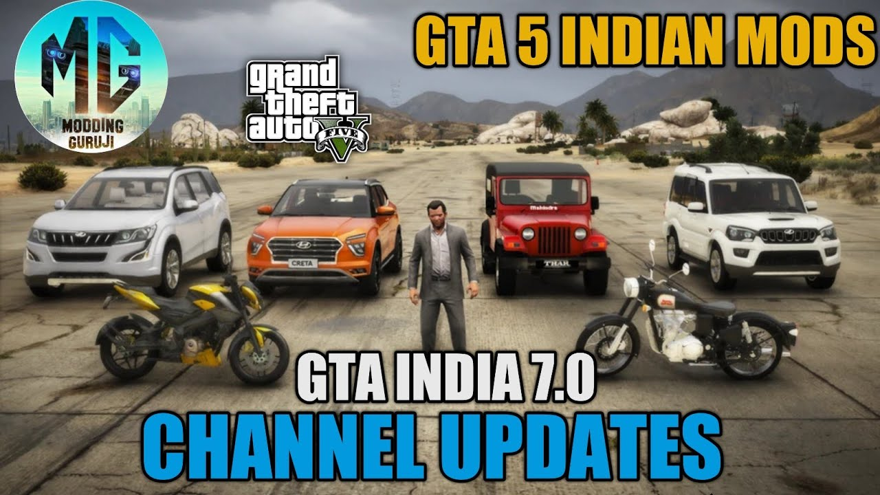 WHAT HAPPENED TO MY CHANNEL? GTA INDIA 7.0 & GTA 5 INDIAN MODS