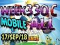 Angry Birds Friends Tournament All Levels Week 330-C MOBILE Highscore POWER-UP walkthrough