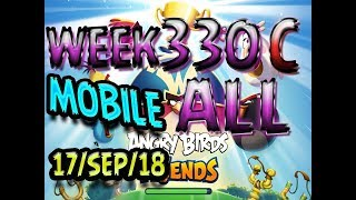 Angry Birds Friends Tournament All Levels Week 330-C MOBILE Highscore POWER-UP walkthrough
