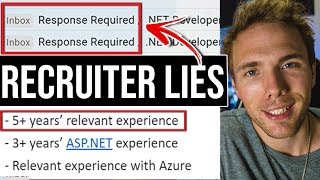 Recruiter Lies | Working with Them As A Jr. Developer #grindreel