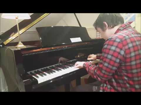 Xion's theme on a Yamaha C1X Grand Piano (Piano Test)