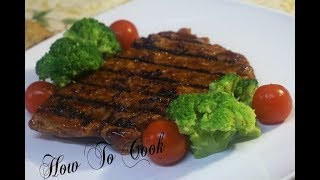 How To Make Vegan Barbeque Beef Steak Ribs RECIPE How To Cook
