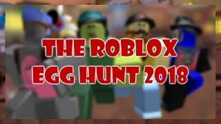 The Roblox Egg Hunt 2018