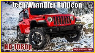 Jeep Rubicon 2019 | Jeep Wrangler Rubicon JL Off Road Review-Cars Monster