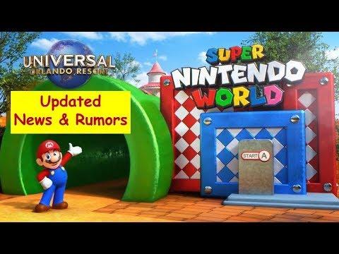 Universal Studios Updates-News-Rumors | Super Nintendo World