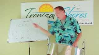 Tropical Shores Steel Drum Lessons: Guantanamera Improvisation
