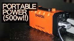 Portable Power (500 Watt BEAST) - Chafon 346wH Solar Generator / Battery Backup / UPS