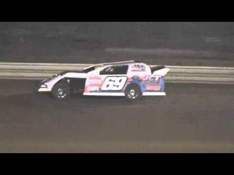 Ark La Tex Speedway Limited modified A feature Part 2 Fan night 4/23/16